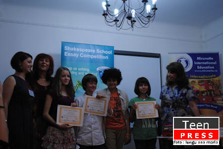 shakespeare school essay competition 2012