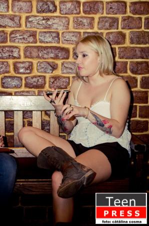 """Interviu cu """"The Rock Chick"""", Aura"""